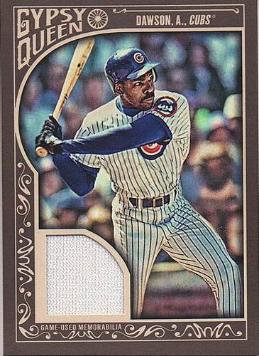 Photo of 2015 Topps Gypsy Queen Relics #GQRAD Andre Dawson
