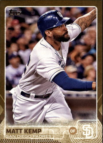 Photo of 2015 Topps Update Gold #US325 Matt Kemp