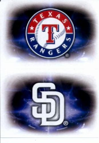 Photo of 2016 Topps Stickers #142 Texas Rangers/165 San Diego Padres