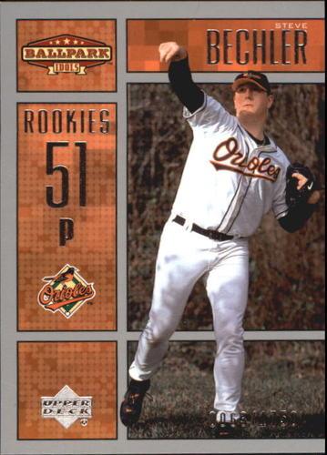 Photo of 2002 Upper Deck Ballpark Idols #228 Steve Bechler ROO RC