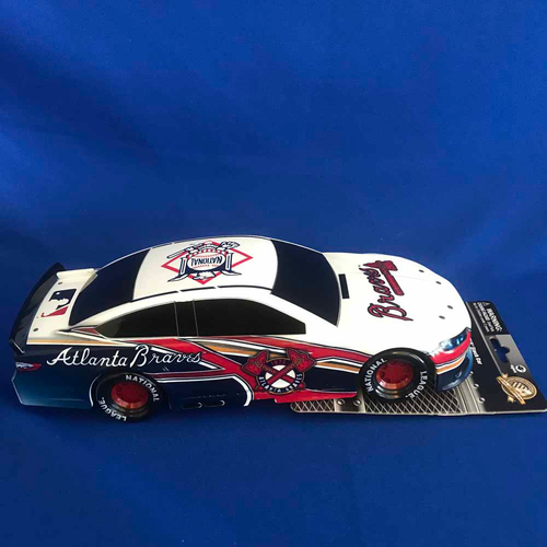 Photo of UMPS CARE AUCTION: Atlanta Braves Lionel Racing MLB 1:18 Scale Stock Car