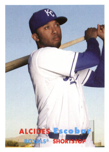 Photo of 2015 Topps Archives #43 Alcides Escobar