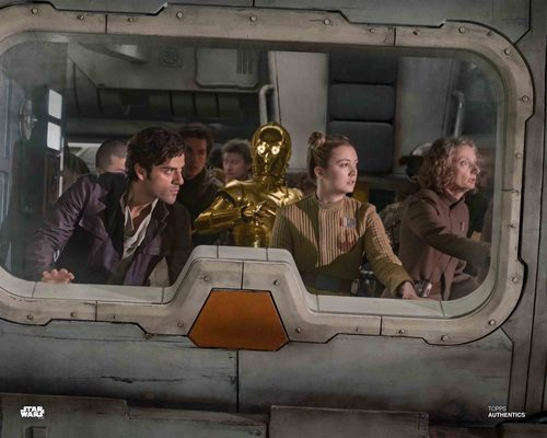 Poe Dameron, Lieutenant Connix and C-3PO