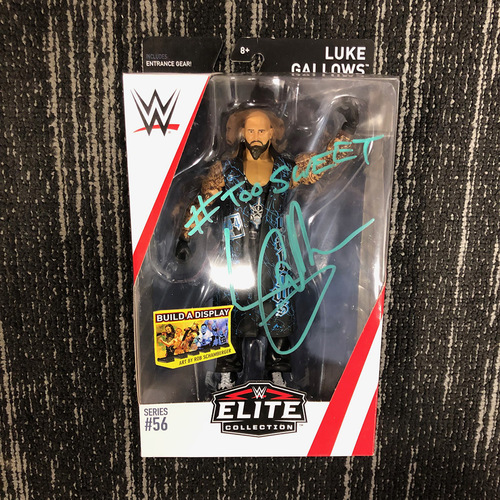 Photo of Luke Gallows SIGNED Elite Series 56 Action Figure
