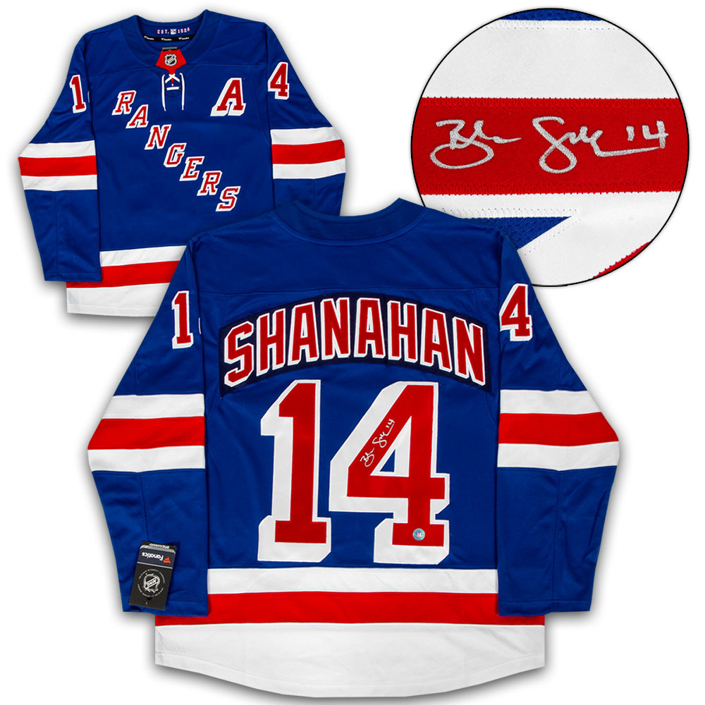 Brendan Shanahan New York Rangers Autographed Fanatics Vintage Hockey Jersey