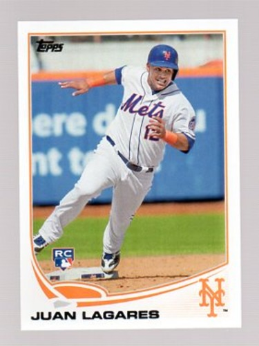 Photo of 2013 Topps Update #US199 Juan Lagares RC