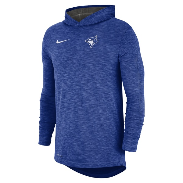 Toronto Blue Jays Dri-FIT Slub Hoodie by Nike