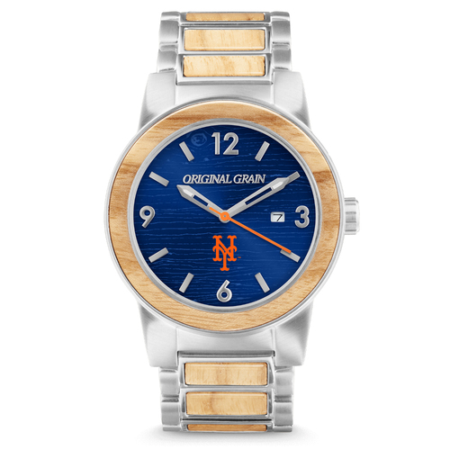 Photo of New York Mets - Reclaimed Baseball Bat Watch