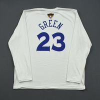 Draymond Green - Golden State Warriors - 2019 NBA Finals - Game-Issued Long-Sleeved Shooting Shirt