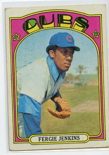Photo of 1972 Topps #410 Ferguson Jenkins