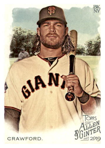 Photo of 2019 Topps Allen and Ginter #236 Brandon Crawford