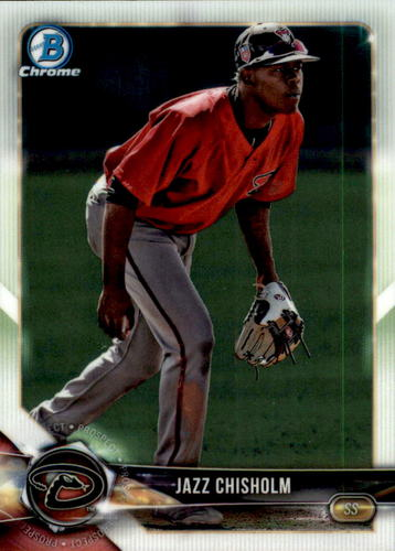 Photo of 2018 Bowman Chrome Draft #BDC16 Jazz Chisholm