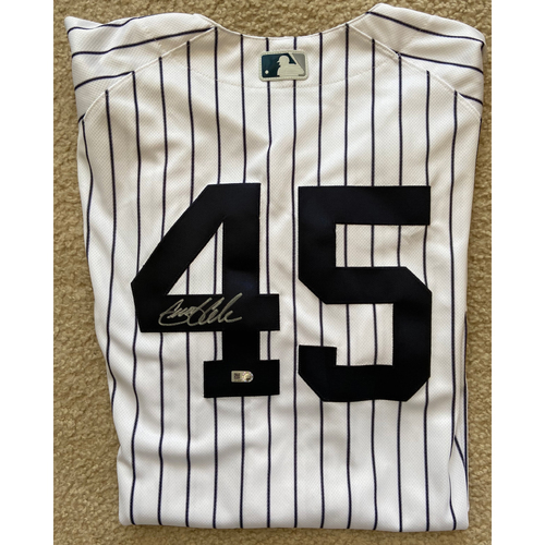 Photo of Gerrit Cole Autographed Yankees Jersey