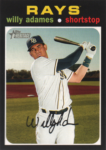 Photo of 2020 Topps Heritage #289 Willy Adames