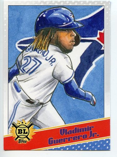 Photo of 2020 Topps Big League Star Caricature Reproductions #SCOVG Vladimir Guerrero Jr.