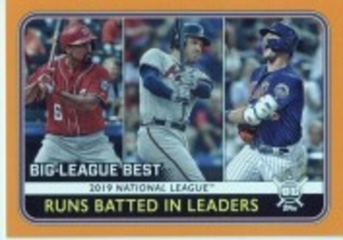 Photo of 2020 Topps Big League Orange #244 Freddie Freeman/Pete Alonso/Anthony Rendon LL