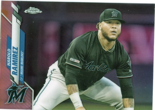 Photo of 2020 Topps Chrome Pink Refractors #106 Harold Ramirez