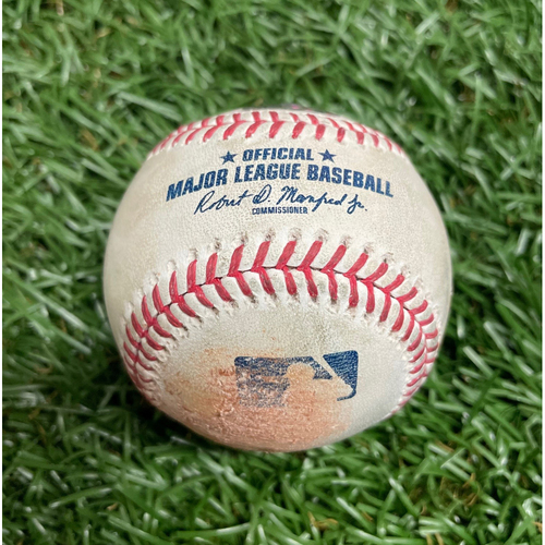 Photo of Game Used Baseball: Cody Reed strikes out Joey Gallo - Top 10 - April 15, 2019 v TEX