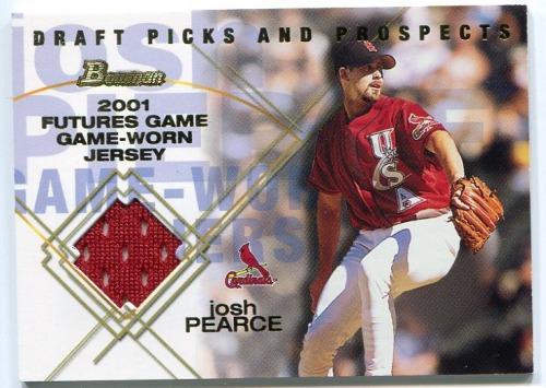 Photo of 2001 Bowman Draft Futures Game Relics #FGRJP Josh Pearce