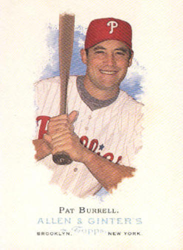 Photo of 2006 Topps Allen and Ginter #184 Pat Burrell