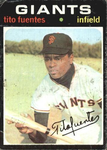 Photo of 1971 Topps #378 Tito Fuentes
