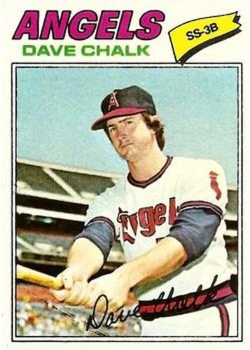 Photo of 1977 Topps #315 Dave Chalk