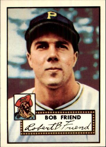 Photo of 1983 Topps 1952 Reprint #233 Bob Friend