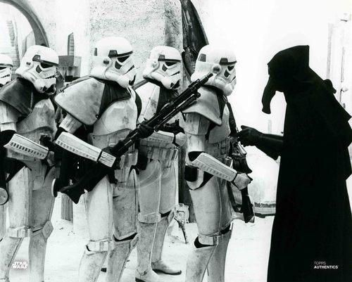 Garindan and Stormtroopers