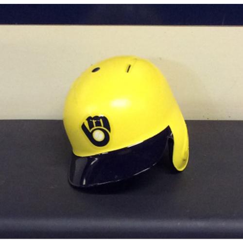 "Photo of Jonathan ""MAMBA"" Schoop Game-Used 2018 Players Weekend Batting Helmet - Solo HR (08/26/18)"