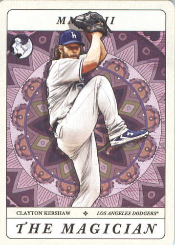 Photo of 2018 Topps Gypsy Queen Tarot of the Diamond #TOD8 Clayton Kershaw