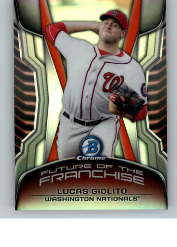 Photo of 2014 Bowman Chrome Draft Future of the Franchise Mini #FFLG Lucas Giolito