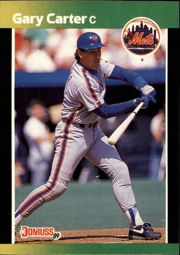 Photo of 1989 Donruss Baseball's Best #182 Gary Carter