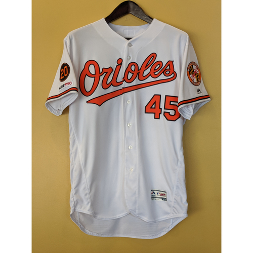Photo of Mark Trumbo - Home Finale Jersey: Game-Used