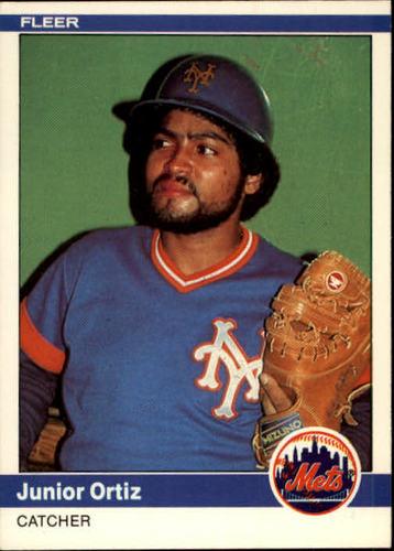 Photo of 1984 Fleer #594 Junior Ortiz