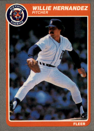 Photo of 1985 Fleer #10 Willie Hernandez