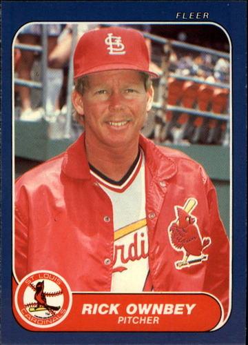 Photo of 1986 Fleer Update #85 Rick Ownbey