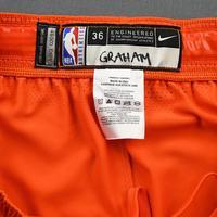 Devonte' Graham - 2020 NBA Rising Stars - Team USA - Game-Worn 1st Half Shorts