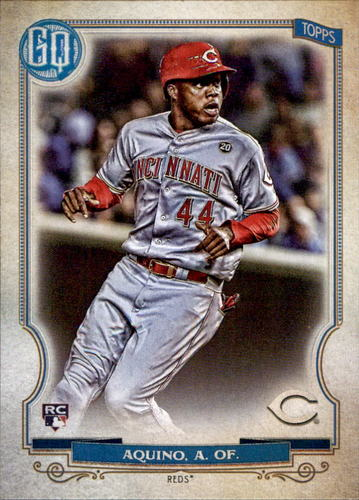 Photo of 2020 Topps Gypsy Queen #35 Aristides Aquino RC