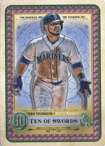 Photo of 2019 Topps Gypsy Queen Tarot of the Diamond #2 Edwin Encarnacion