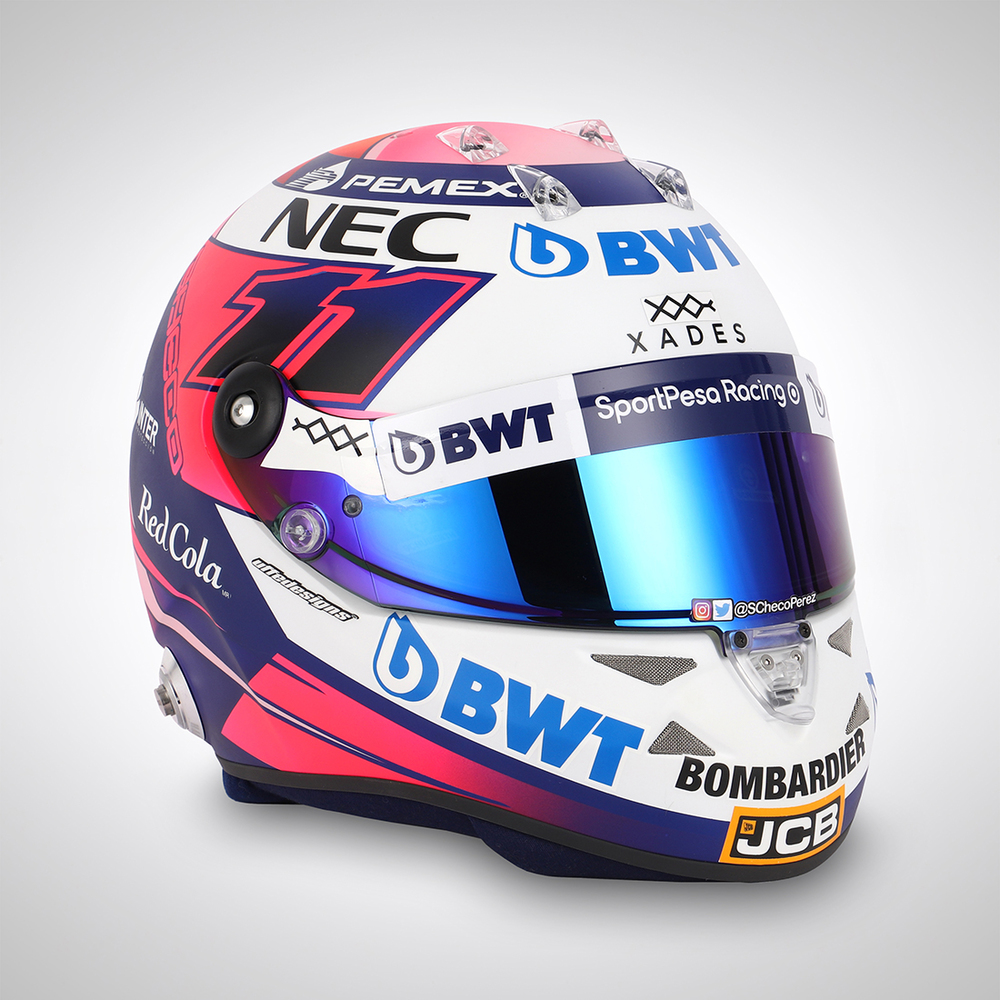 Sergio Perez 2019 Replica Helmet