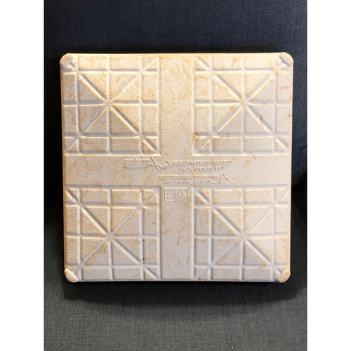 Photo of Game-Used 1st Base: 2020 World Series - Tampa Bay Rays vs. Los Angeles Dodgers - Game 6: Innings 7-9