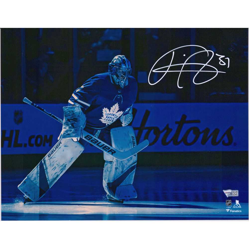 Frederik Andersen Toronto Maple Leafs Autographed 11