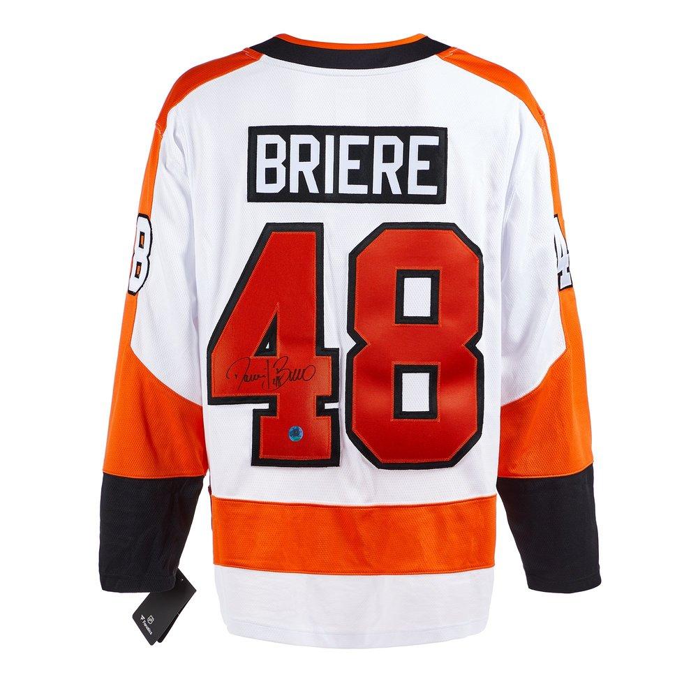 Daniel Briere Philadelphia Flyers Signed White Fanatics Jersey