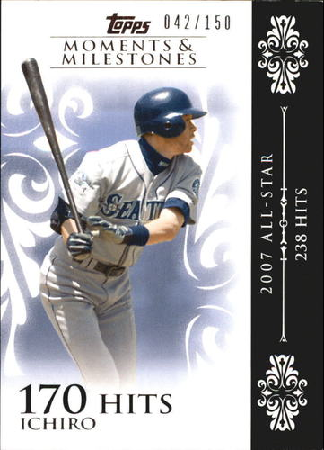 Photo of 2008 Topps Moments and Milestones #63-170 Ichiro Suzuki