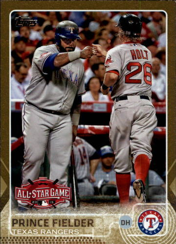 Photo of 2015 Topps Update Gold #US370 Prince Fielder