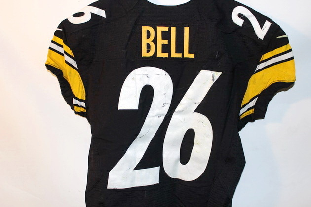 super popular 73785 05592 NFL Auction | STEELERS LE'VEON BELL GAME USED JERSEY OCTOBER ...