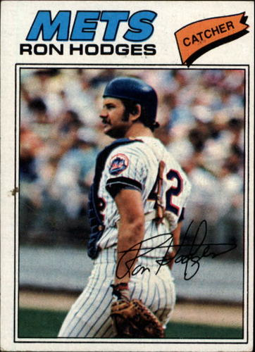 Photo of 1977 Topps #329 Ron Hodges