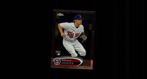 Photo of 2012 Topps Chrome #198 Brian Dozier Rookie Card