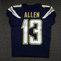 CHARGERS - KEENAN ALLEN SIGNED AUTHENTIC CHARGERS JERSEY - SIZE 40