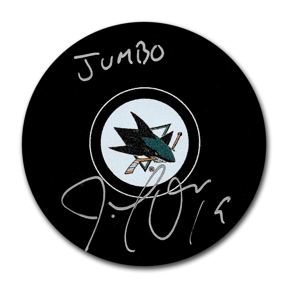 Joe Thornton Autographed San Jose Sharks w/JUMBO Inscription